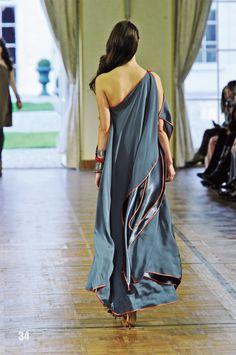 flowing dress...