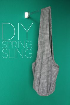 DIY Spring Sling | Us & Dog