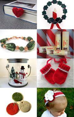 Holiday Gift Ideas by #Grandmasandeze #Maine #Maineteam #HolidayGifts #Treasury