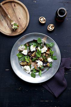 Cucina Piccina » Blog Archive Die Knolle ihres Lebens: Maple Glazed Ofengemüse mit Maronen, Speck, Burrata und Brunnenkresse » Cucina Piccina