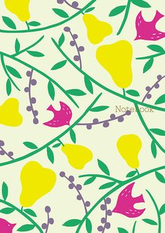 "Cover of ""Yurio Seki' s Scandinavian Notebook Collection - forest (plain)"" #pattern #JapanesePattern #YurioSeki"
