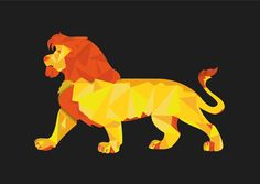 Lion poster on Imposters | Imposters.in | Buy Posters Online