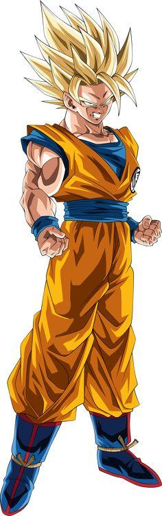 Goku (Super Saiyan 2) Shintani Palette by TheTabbyNeko on DeviantArt
