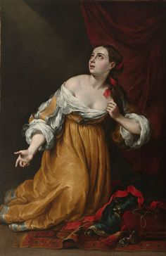 https://flic.kr/p/Jf8HAS | Saint Mary Magdalene Renouncing the Worldly Life | early 1650s. Oil on canvas. 165,7 x 108,5 cm. Virginia Museum of Fine Arts, Richmond. 53.21.2.