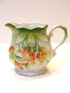 Vintage German China Pitcher by FunandBaubles on Etsy, $19.00