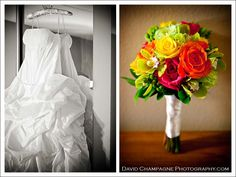 Beautiful bride's bouquet by Pamela for Michael's Flower Girl
