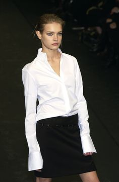 The Perfect White Shirt runway style