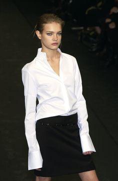 Simplicity is the key of true elegance: #JILSANDER FW 03