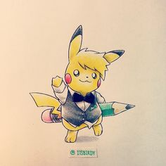 Artist: Itsbirdy | Pokémon | Pikachu