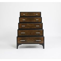 Pierre Dresser - Burled Walnut/Black Lacquer