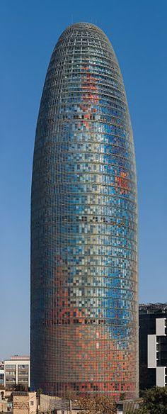 Torre Agbar - Barcelona, Spain