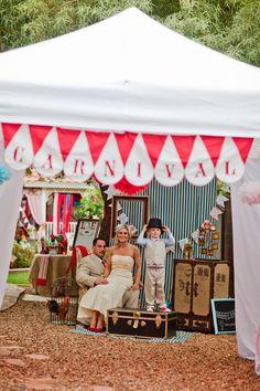 meesterbruiloft - circus thema bruiloft