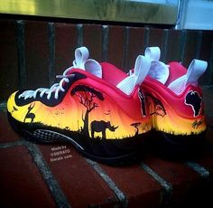 Nike Air Foamposite One Africa