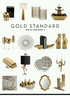 Love The Gold Bar Home Accents Staging Bedroom Decoration