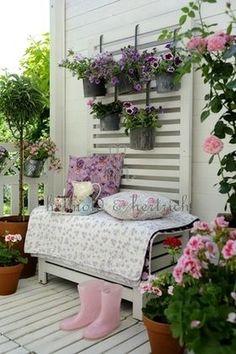 Idées pour petit balcon