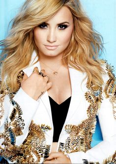 Demi Lovato is an amazing singer and role model who I'd love to meet someday :)