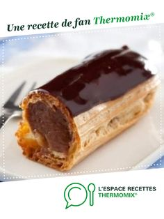 Discover recipes, home ideas, style inspiration and other ideas to try. Dessert Thermomix, Thermomix Bread, Eclairs, Easy Eclair Recipe, Köstliche Desserts, Delicious Desserts, Bon Dessert, Food Videos, Recipe Videos
