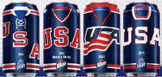 Labatt USA Hockey Cans Now Available in Some States.Ok this is awesome! Team Usa Hockey, Olympic Hockey, Ice Hockey Teams, Hockey Logos, Blackhawks Hockey, Hockey Goalie, Hockey Cakes, Canadian Beer, Ale
