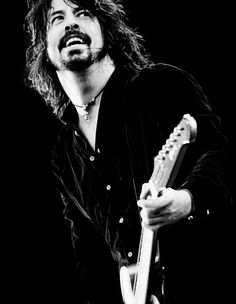 Dave Grohl - Foo Fighters / Black and White Photography