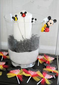 Mickey ears on lollipops