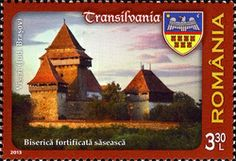Romania Stamps 2013 | Fortified Church from Viscri (Brasov County)