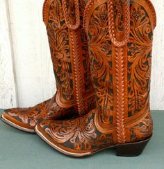 There is nothing like hand tooled boots