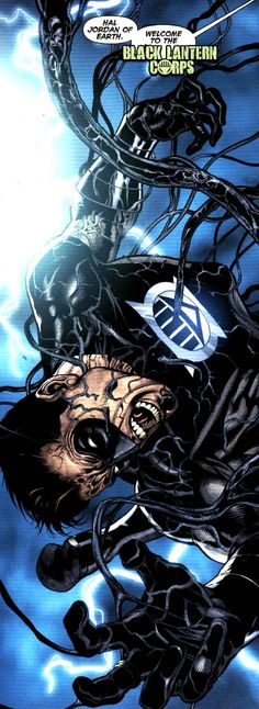 Black Lantern Hal Jordan by Ed Benes