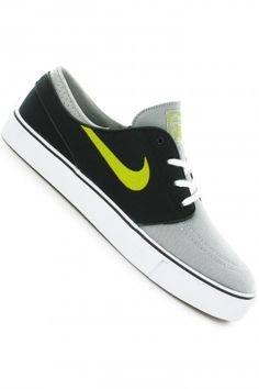 c914a388926c9 ... nike sb zoom stefan janoski canvas shoe (base grey venom green black)  skatedeluxe sk8dlx