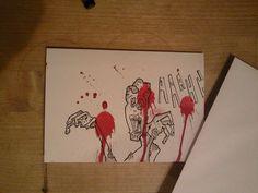 Aaaaahhappy Birthday - Zombie Card