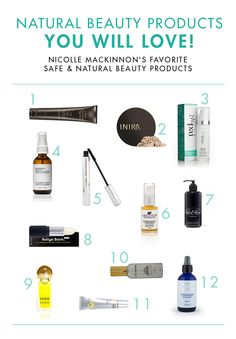 Natural Beauty: 5 Ingredients You Don't want Near Your Face (+ @nicollebmack's fave #greenbeauty products!).