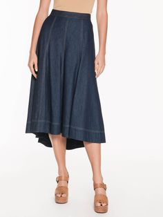 Shop online for the latest looks from Australia in our summer range of dresses, skirts, jackets, shirts, accessories and more in this season's styles Flared Skirt, Midi Skirt, High Waisted Skirt, Buy Skirts Online, Denim Flares, Online Purchase, Maine, September, Jackets