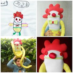 Custom Soft Doll | Design your own Zé Zezling! rag doll | Personalized Softie | Custom cloth doll | Draw your softie, plan his story id card You Draw, Draw Your, Soft Dolls, Softies, Fun Games, Design Your Own, Gifts For Kids, Doll Clothes, Dinosaur Stuffed Animal
