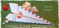 DIY Paperplane for Saint valentine's day!http://www.modernmoms.gr/?p=8517