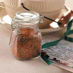 Spice Mix for Chili Recipe