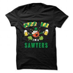 I Love St Patrick - Kiss me - SAWYERS T shirts