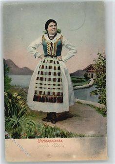 1910 Trachten Osteuropa Wielkopolanka