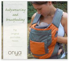 Breastfeeding and Babywearing: Our Top 5 Reasons why they're perfect together - Onya Baby