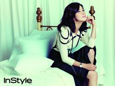 Lee Bo-young // InStyle Korea // September 2013
