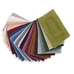 Wamsutta® Reversible 30-Inch x 48-Inch Cotton Bath Rug in Colors - BedBathandBeyond.com