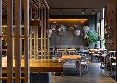 EAST restaurant, Kiev, 2016 - YOD studio of commercial design