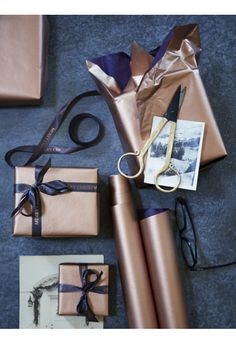 Copper Wrapping Pape