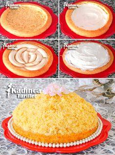 Sade Köstebek Pasta Tarifi
