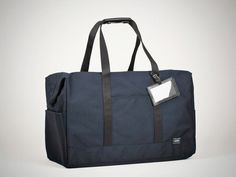 Navy Porter Boston Bag