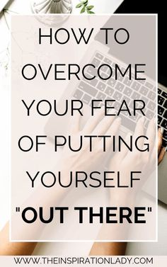 Putting your ideas out for other people to look at and judge can be terrifying. Here are some tips for overcoming your fear of putting yourself out there! Confidence Building, Self Confidence, Self Development, Personal Development, Thing 1, Self Improvement Tips, Angst, Positive Mindset, Quotes Positive