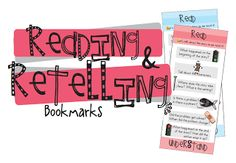"""FREE LANGUAGE ARTS LESSON - """"Reading and Retelling Bookmarks"""" - Go to The Best of Teacher Entrepreneurs for this and hundreds of free lessons. Fun Classroom Activities, Reading Activities, Teaching Reading, Guided Reading, Teaching Ideas, Classroom Ideas, Autism Classroom, Reading Resources, Teaching Tools"""