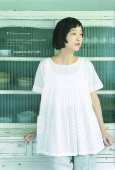 Japanese Style Clothing Easy Sewing Pattern by JapanLovelyCrafts