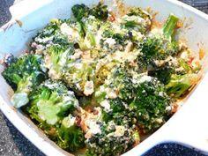 Cheesy Broccoli Casserole (Low Carb)