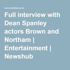 Full interview with Dean Spanley actors Brown and Northam   Entertainment   Newshub