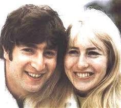 John Lennon and Cynthia Powell-Lennon john and cyn--John & First Wife (And Mother of His Eldest Son, Julian Lennon), Cynthia Lennon...Together from Teens to late 1968. SHE was there thru all the Beatle stuff. Yoko came late. But has more photos. It's a shame, when a woman steals a married man... Yoko said she didn't know about the Beatles. REALLY?! (come on!)