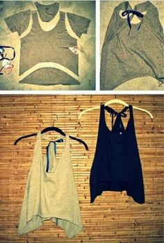 7 Easy DIY T-shirts & Tank Tops Perfect for Summer